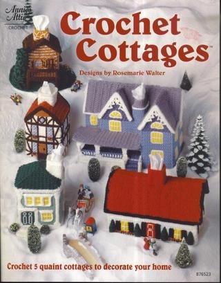 WHAT you mean I could have had a crocheted village for Christmas!