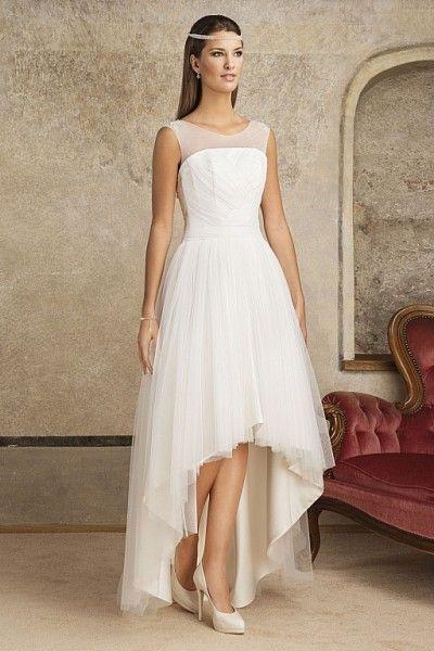 Krótko czy długo, a może kompromis :) #dres #ślub #suknia #krótka #tiul