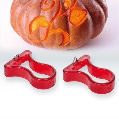 Triangle 2 Piece Pumpkin Carver Set