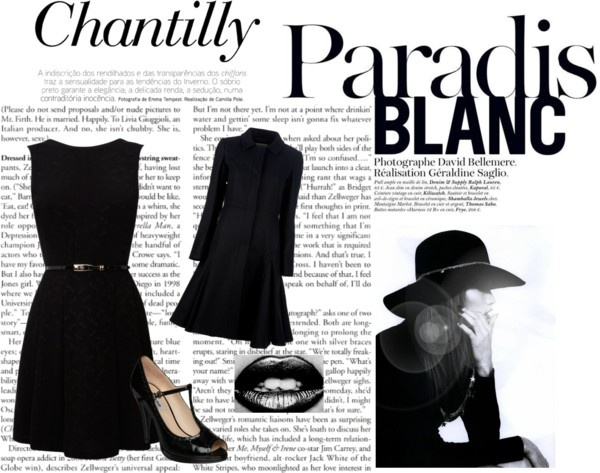"""""""Black and White"""" by alicia-king on Polyvore"""