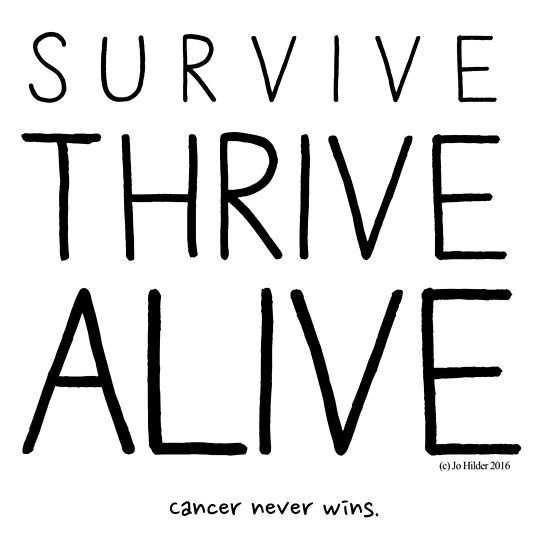 Survive, Thrive, Alive.