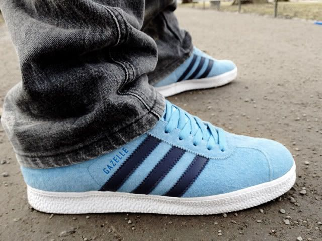 Originals Pinterest Adidas Adidas en Gazelle Skyblue Ii sneakers UR1wdA1qx