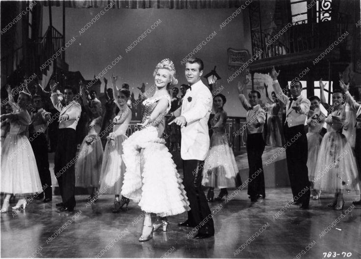 photo Virginia Mayo Gene Nelson musical film She's Back on Broadway 2539-02