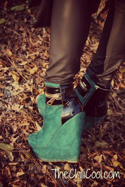 Zeppe verdi - Alessia Milanese - Glamour.it
