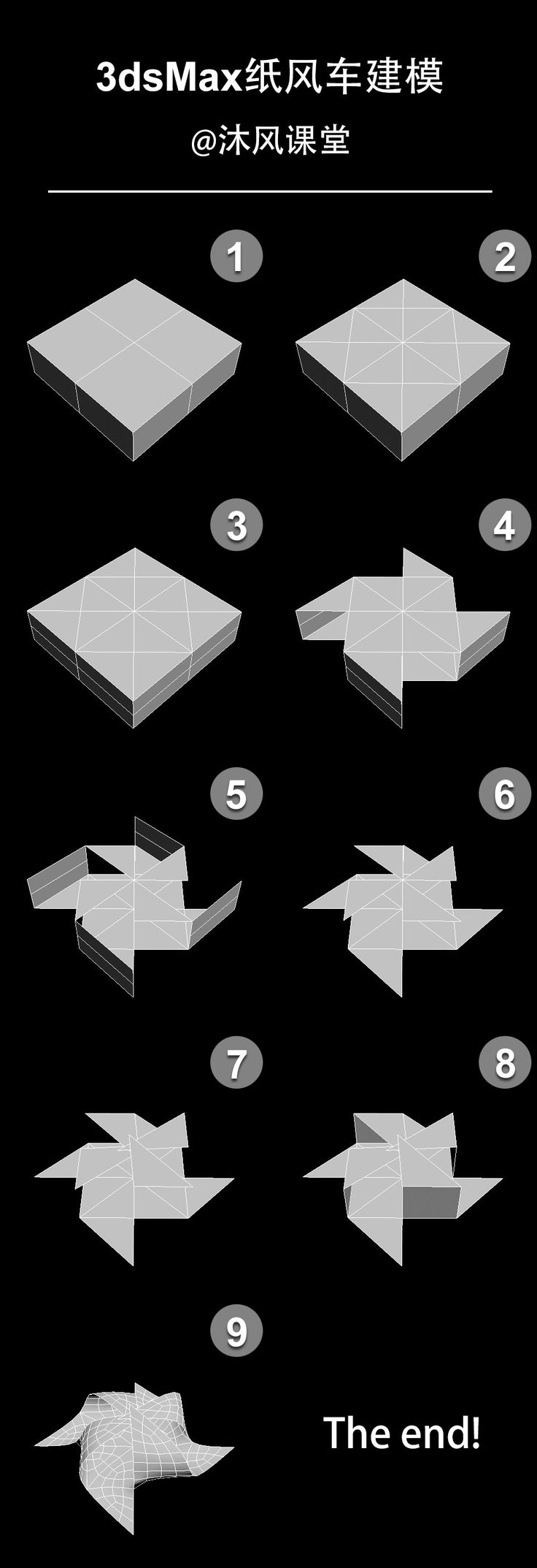 how to make windmill model