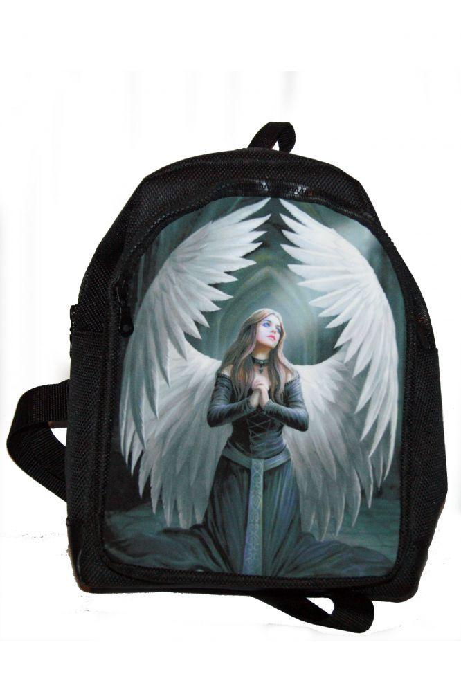 Hátitáska, hátizsák, angyal fehér szárnyakkal