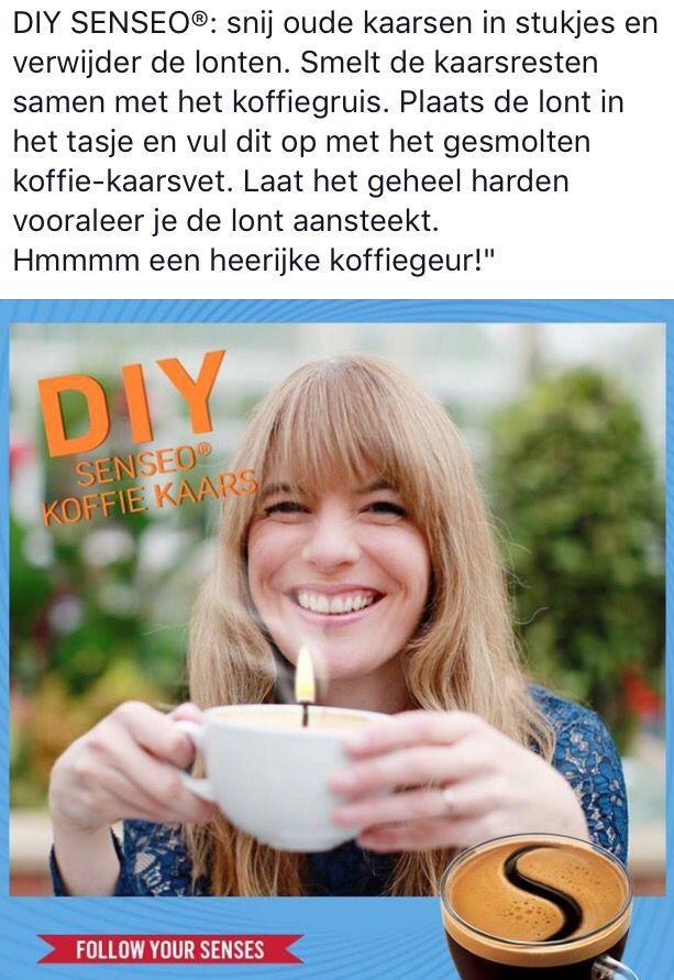 Diy koffie kaars