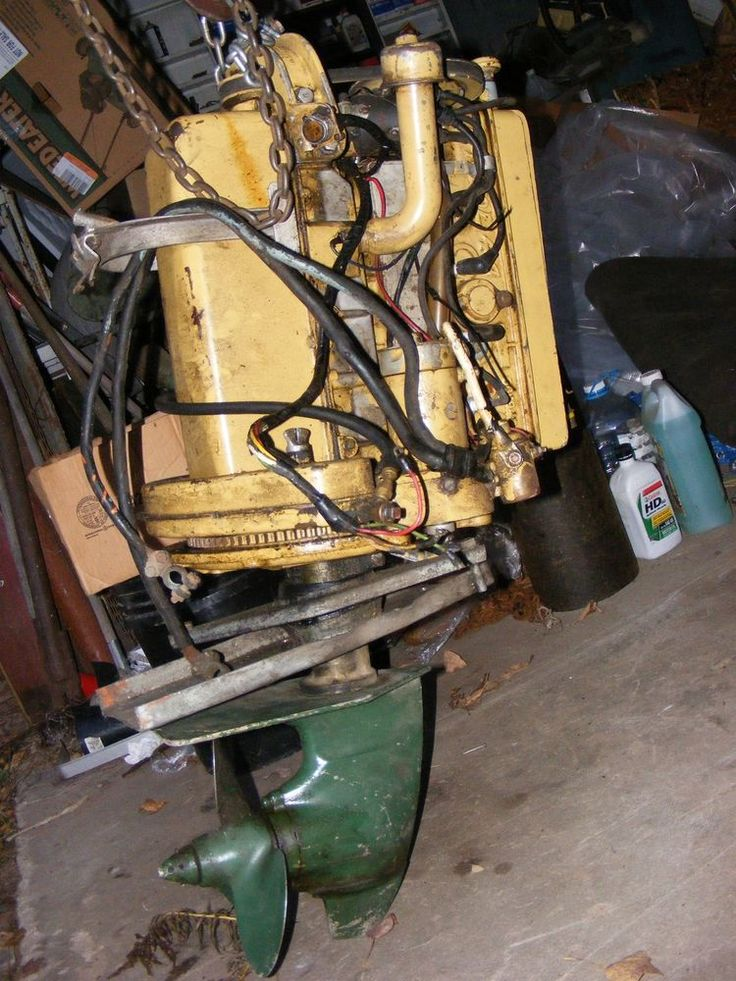 Fageol 44 VIP Classic Wood Inboard Boat Motor Engine ...