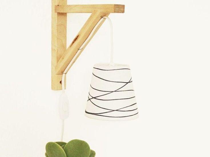 Tutorial fai da te: Come fare un paralume decorato da appendere via DaWanda.com