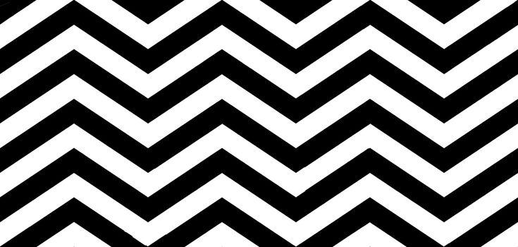Black and White Zebra Chevron Pattern Wallpaper