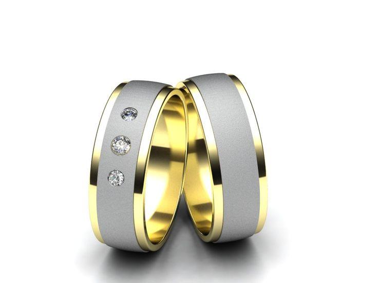 Snubní prsteny R39  #aiola #wedding #rings