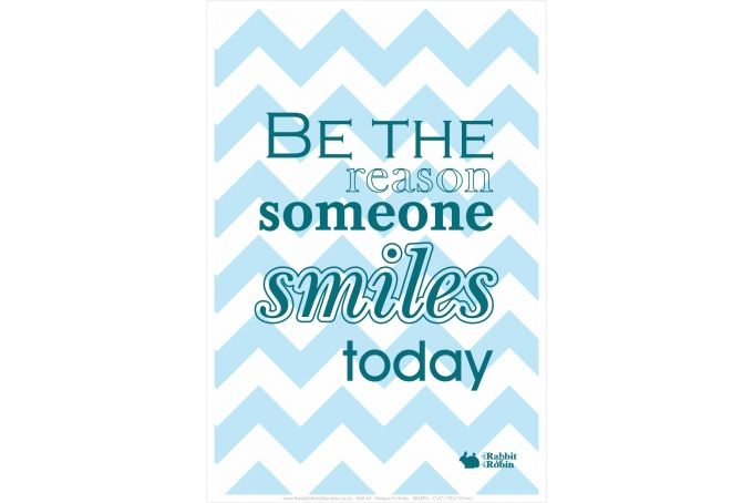 Word Art, Reason to Smile, 0005PH_4X6 by the rabbit and the robin on hellopretty.co.za
