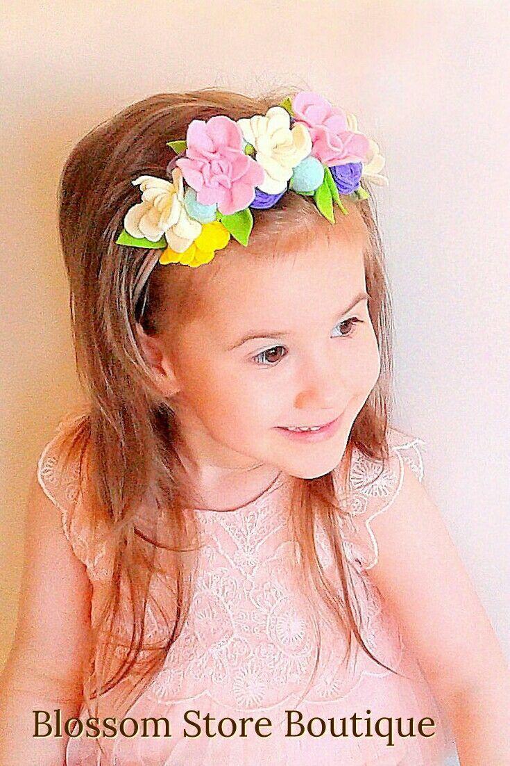NEW Girl Kids Children Baby birthday Party Crown Tiara Hair Head Band Hoop Prop