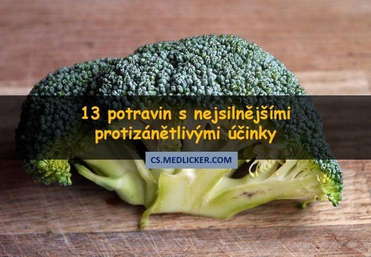 Chronický zánět se může podílet na vzniku nadváhy a závažných onemocnění. V tomto článku se dozvíte o 13 potravinách s nejsilnějšími protizánětlivými účinky.