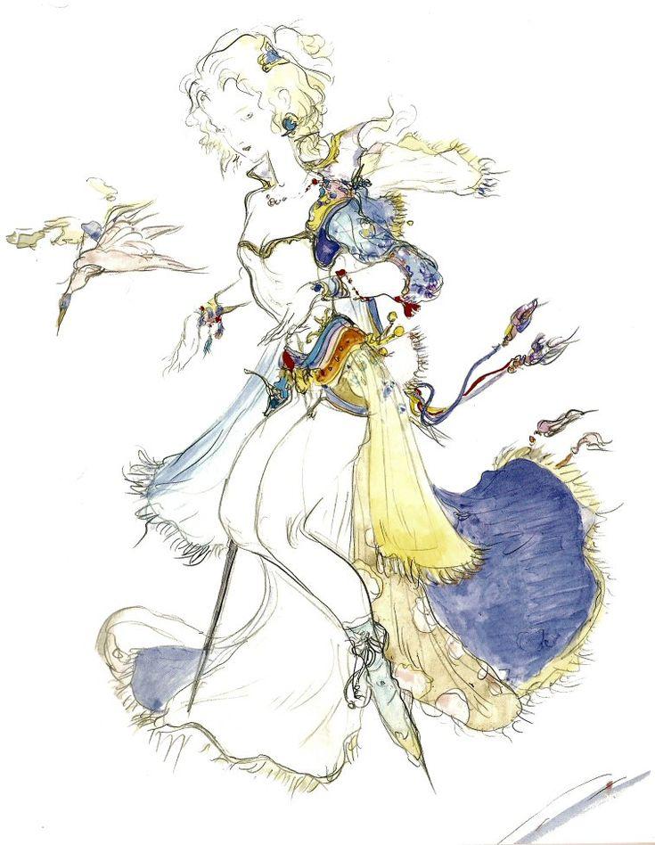 Amano's Alternate Terra Concept Art
