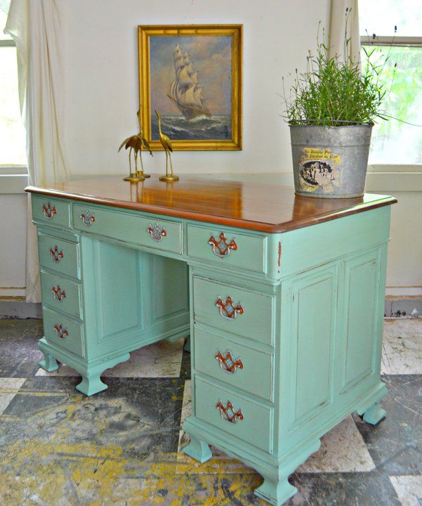 Painted Desks 273 best painted desks images on pinterest | painted desks
