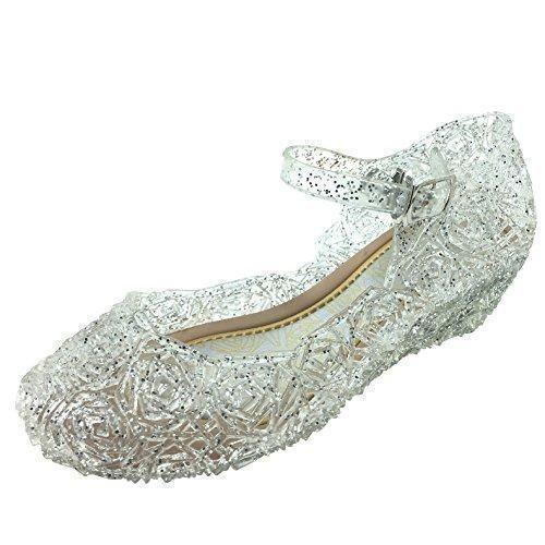 Oferta: 30.5€ Dto: -64%. Comprar Ofertas de Tyidalin Niña Bailarina Zapatos de Tacón Disfraz de Princesa Zapatilla de Ballet para 3 a 12 Años EU28-33(Color: Púrpura,gold barato. ¡Mira las ofertas!
