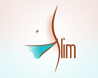 #Slim #logo #verbicon
