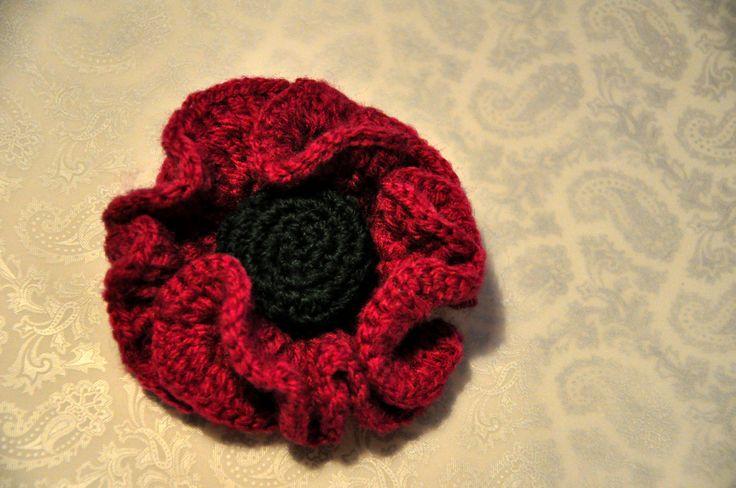 brooch. crochet. handmade
