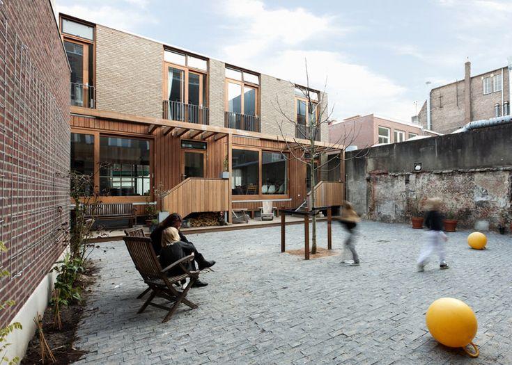 Housing Elandsstraat by Bastiaan Jongerius / Amsterdam