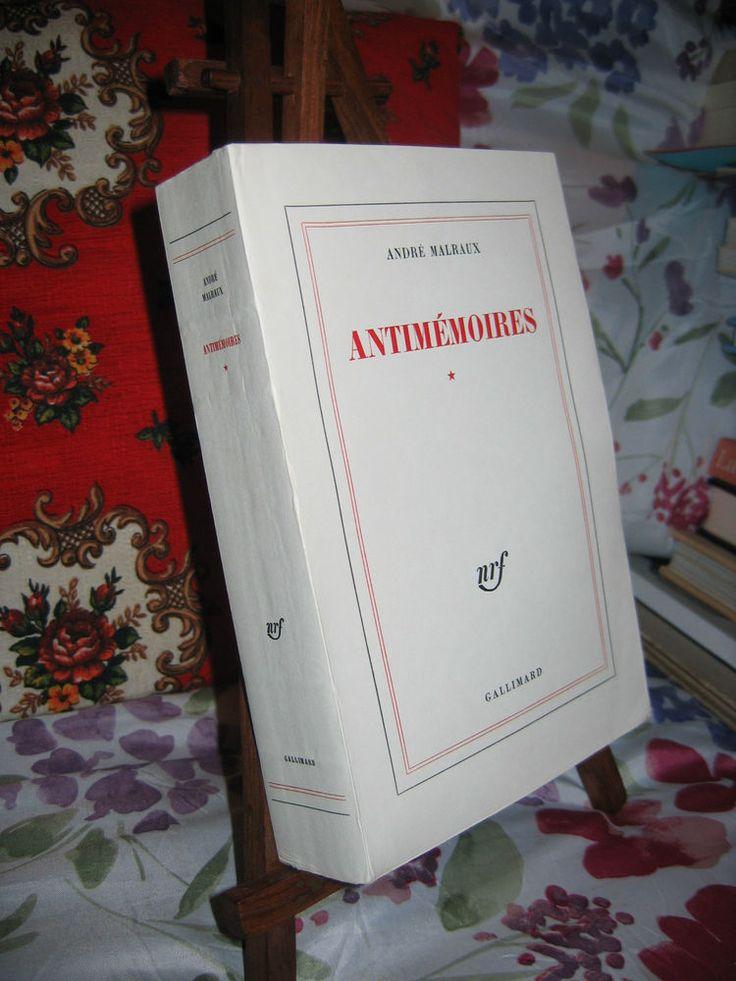 Antimémoires  André Malraux Ed. originale 1/310 1967 en bel état non coupé