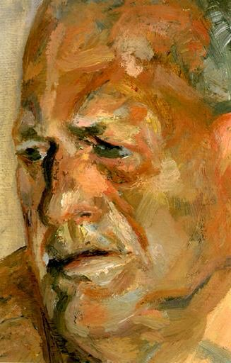 Lucian Freud - Portrait of John Richardson