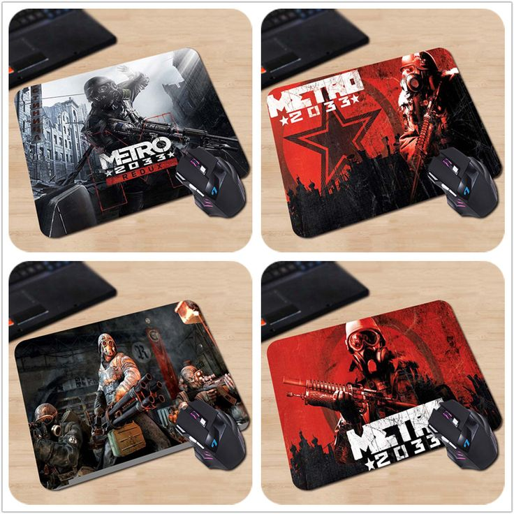 Hot Sale Metro 2033 Redux Game Wallpaper Art Professinal Printed Customized Mouse Pad Computer Laptop Mice Mat Optical Speed Pad #shoes, #jewelry, #women, #men, #hats, #watches
