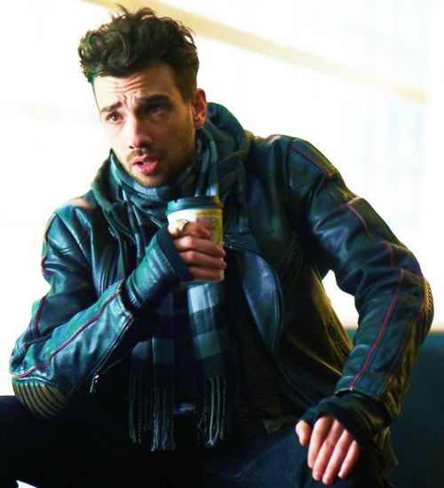 Jay Baruchel in The Art of Steel.  Loved his biker boy look in this film.