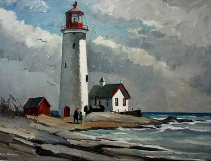 Tom Roberts; Point Petre Lighthouse