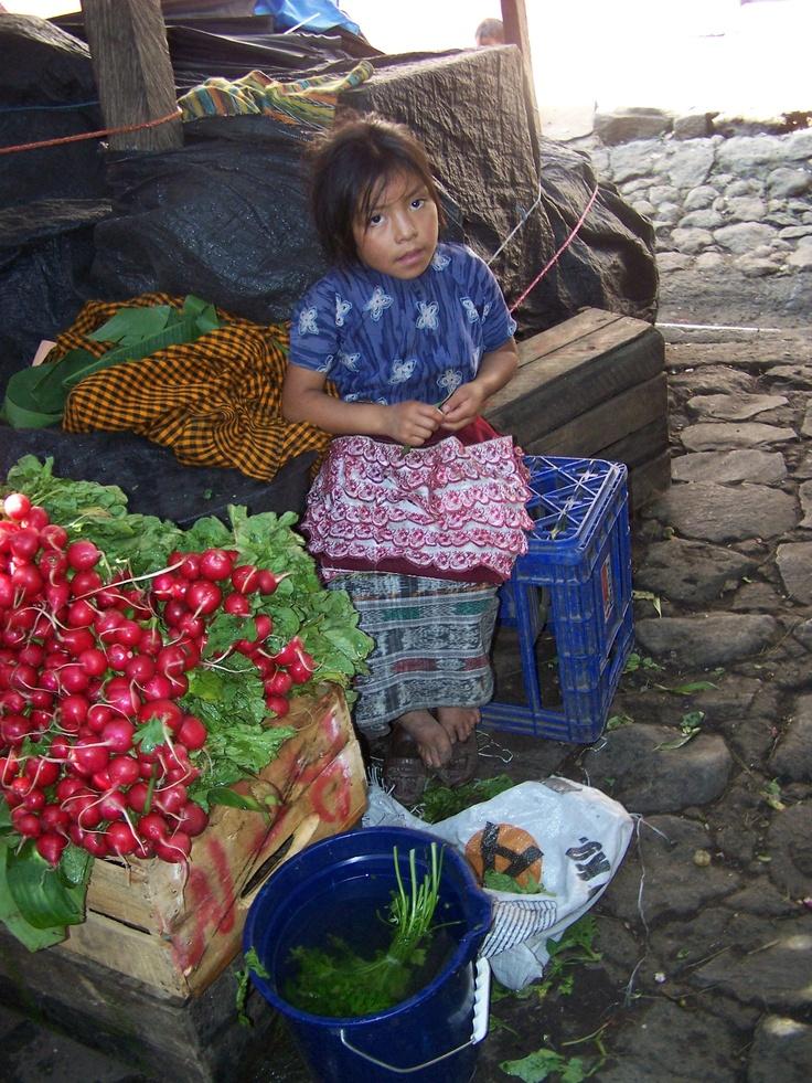 Market in Puerto Quetzal, Guatemala