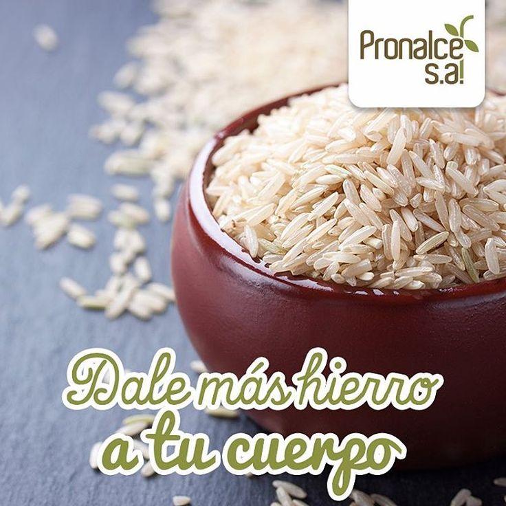 Una de las propiedades del arroz es el alto contenido de hierro, ideal para las personas anémicas y mujeres embarazadas #ProductosPronalce  #Pronalce #Avena #Wheat #Trigo #Cereal #Granola #Fit #Oats #ComidaSaludable #Yummy #Delicious #Tasty #Instagood #Delicioso #Sano #HealthyFood #Breakfast #Protein #Nutrición #Cereales