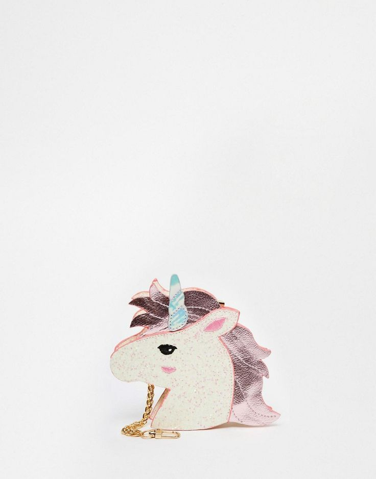 Monedero con diseño de unicornio pop art de Skinnydip
