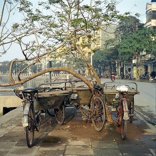 Bicycles in Haiphong | Flickr - Photo Sharing!