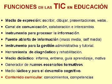 IMPACTO TIC EN EDUCACIÓN