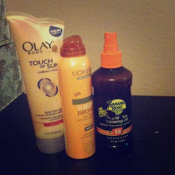Reserved! Barely used!Bannana boat,loreal,and olay! Other