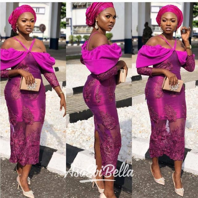 Top Classic Asoebi Styles For Wedding Guest Nigerian Lace Styles Lace Fashion African Lace Dresses