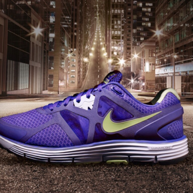 Nike Lunar Glide+ the most comfy running shoes. No more achy feet!