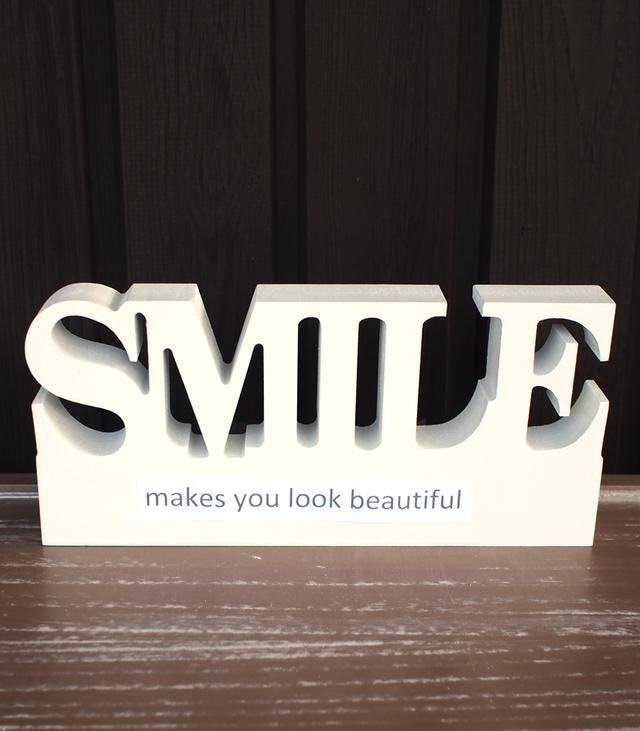 Smile kyltti pöydälle 9,90€