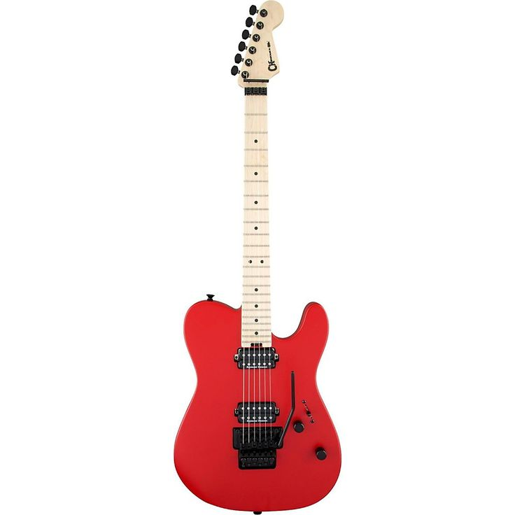 Charvel Pro-Mod San Dimas Style 2 HH Floyd Rose Maple Fingerboard Electric Guitar Satin Red
