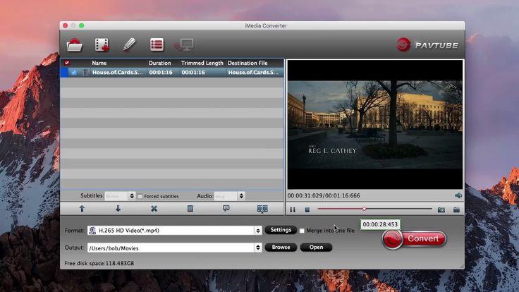 Best HEVC/H.265 Converter for Mac.