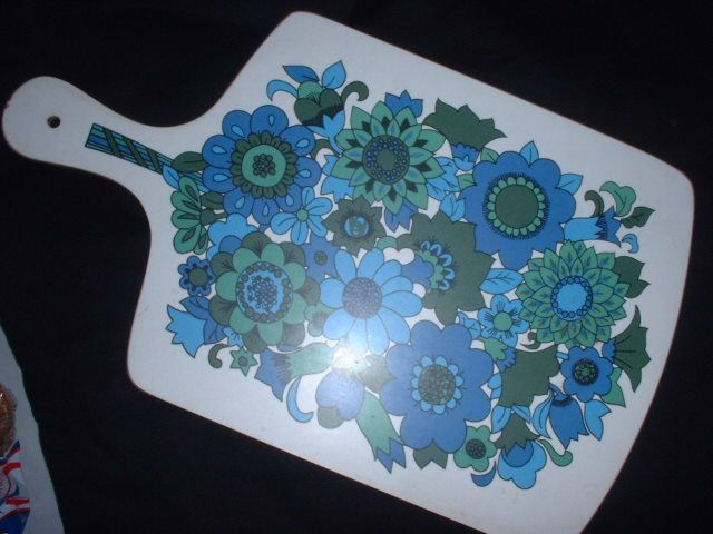chopping board - I think ours was orange