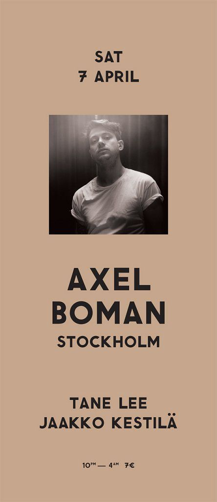 Easter Saturday w/ Axel Boman was banging.