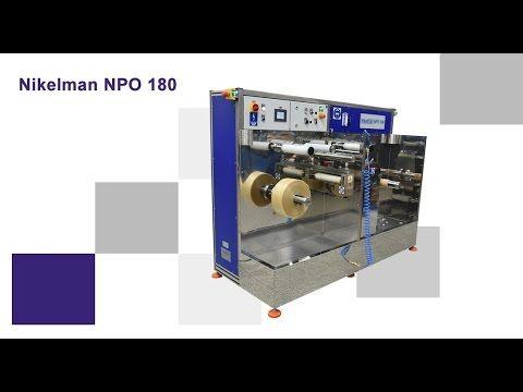 NIKELMAN - High speed rewinding on device for 'NPO Slava' - Nikelman PO 180 - YouTube