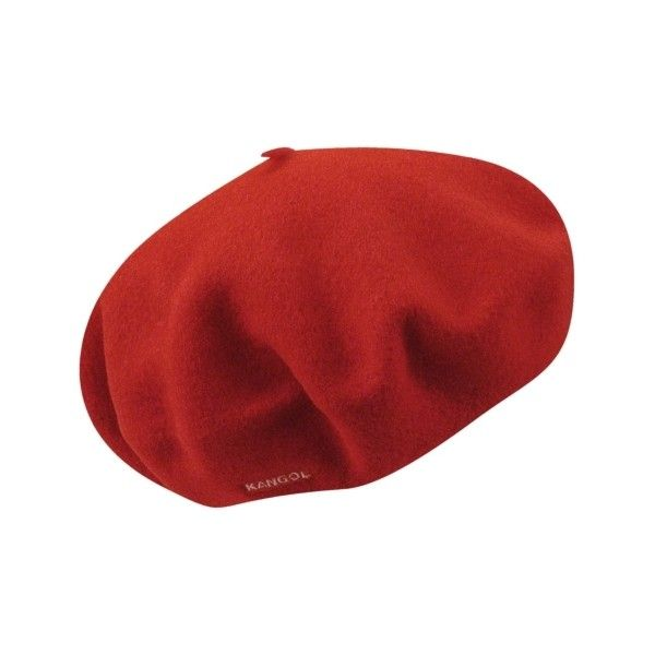 Wool Beret - KANGOL Hats, Caps and Accessories. (8.345 HUF) ❤ liked on Polyvore featuring accessories, hats, kangol hats, wool beret, beret hat, kangol and beret cap