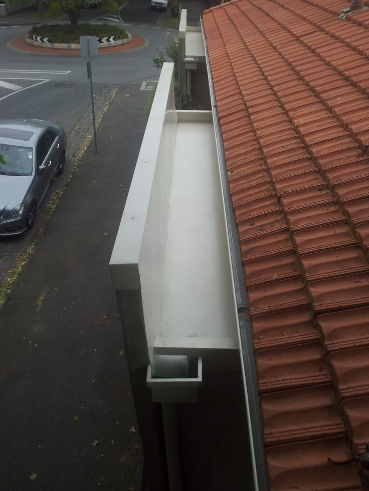 Box Gutters are made to order. They generally have a large carrying capacity and are typically found on homes with Flat Roofs or Commercial and Industrial Building. #guttersVermont
