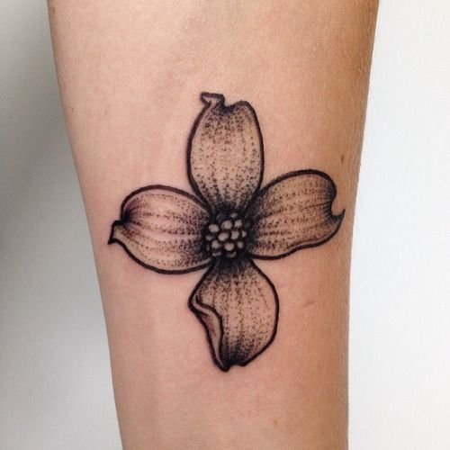 Dogwood Flower Tattoo Designs for Girls | Best Tattoos 2016, Ideas ...