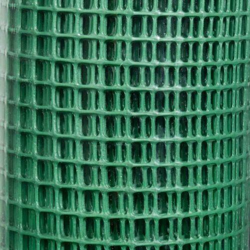 Provence Outillage - Provence Outillage Grillage plastique vert 9x9 mm Taille 1 x 5 m