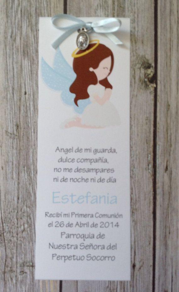 DIY Baptism or Communion Favor Bookmark by GUGUKIDSDESIGN on Etsy, $8.00