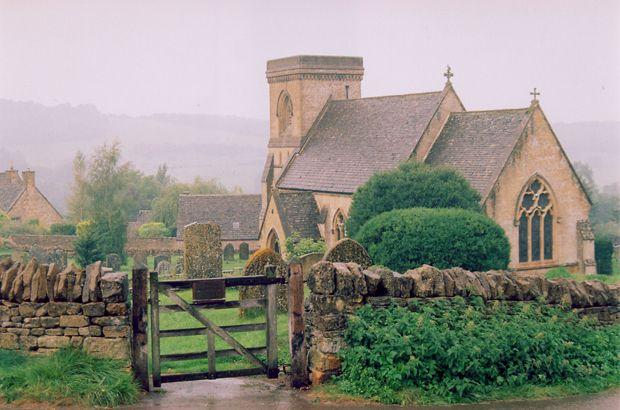 Cotswold church, UK