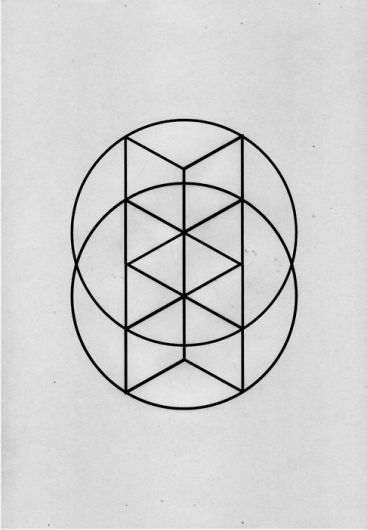 Abstraction of primordial geometry.
